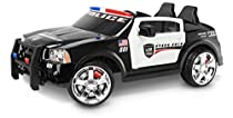 Kid Trax Dodge Charger Pursuit 12V Police Car KT1111WM Ride On