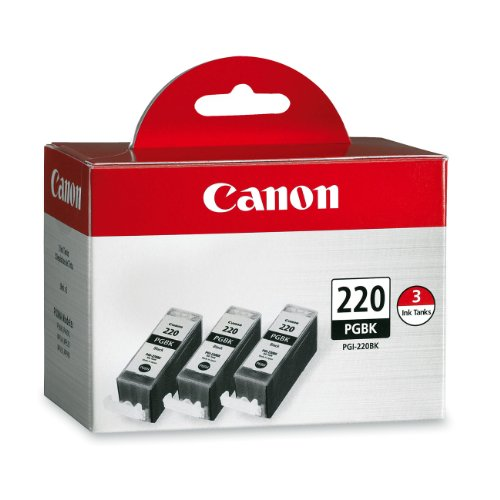 Canon PGI-220 Combo Pack – Triple Pack (Black)