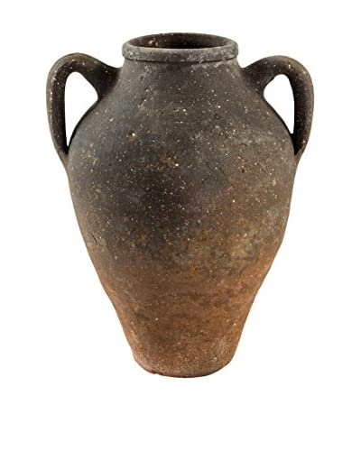 bambeco Vintage Olive Jar, Earth/Rust