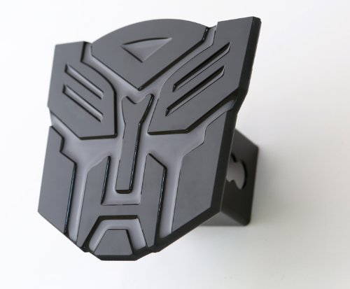 Big Save! Transformer Autobot Black 3d Logo Trailer Metal Hitch Cover Fits 2 Receivers