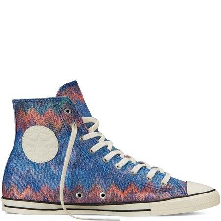 B00Q8Q41SW Converse x Missoni Chuck Taylor All Star Fancy in Blue Multi Size 7.5