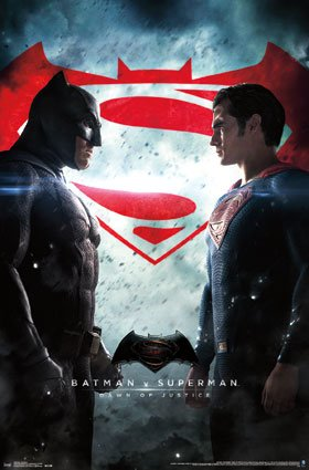"Trends International RP14650 Batman Vs Superman Wall Poster, 22"" x 34"" at Gotham City Store"