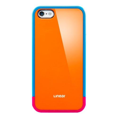 国内正規代理店品SPIGEN SGP iPhone5 ケース リニア ポップスシリーズ [オレンジ] SGP10123