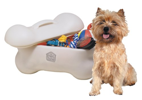 Our Pets Big Bone Toy Box Storage Bin