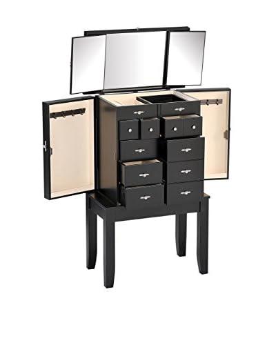 Acme Furniture Jewelry Armoire, Black