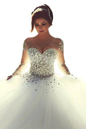 Hochzeitskleider Brautkleider Langarm