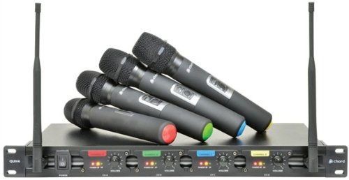 Chord 171.840 QU4 Quad UHF Wireless System Black Friday & Cyber Monday 2014