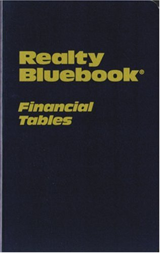 Realty Bluebook Financial Tables (Financial Tables compare prices)