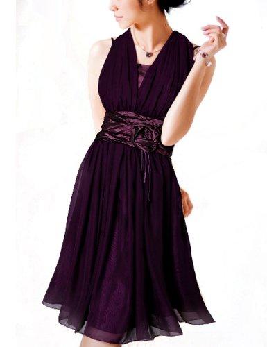 donna-bella-brautjungfer-kleid-bridesmaid-hochzeit-girl-party-dress-chiffon
