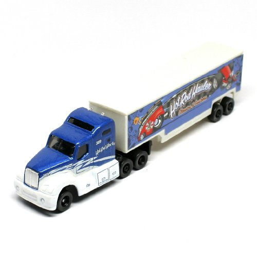 Hot Rod Haulers Classics & Customs * On the Road Series * Maisto Highway Haulers 2010 Fresh Metal Die-Cast Tractor Trailer / Semi Truck Vehicle Collection - 1