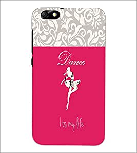 PrintDhaba Quote D-2639 Back Case Cover for HUAWEI HONOR 4X (Multi-Coloured)