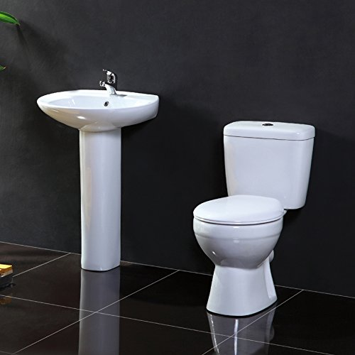 Atlantic 1TH 4 Piece Bathroom Suite by John Louis Bathrooms