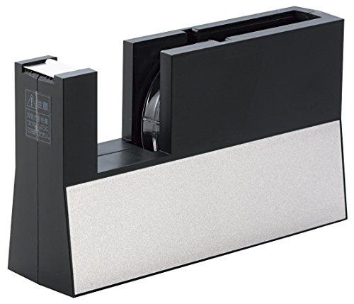 ニチバン テープカッター台 切り口まっすぐ直線美 TC-CB6 大巻 黒