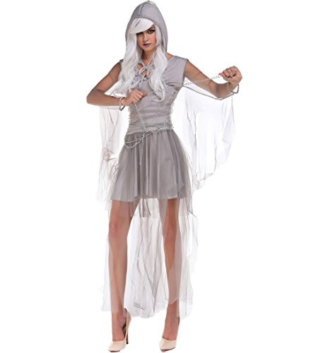 Blues Outfit Women's Beauty Ghost Spirit Costume Halloween Haunting Costume