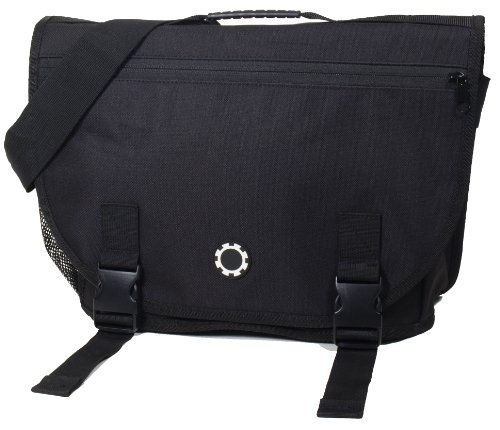 dadgear courier diaper bag solid black designer nappy bags. Black Bedroom Furniture Sets. Home Design Ideas