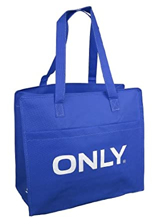 only shopping bag tasche blau de bekleidung