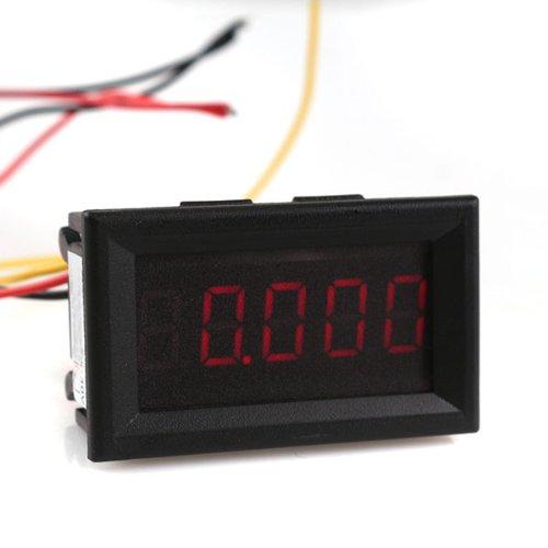 """Generic Mini 5 Digit 0.36"""" Red Led Digital Voltmeter Dc 0-33.000V Voltage Meter Panel"""
