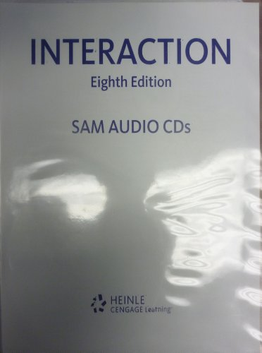 SAM Audio CD-ROMs for St. Onge/St. Onge's Interaction
