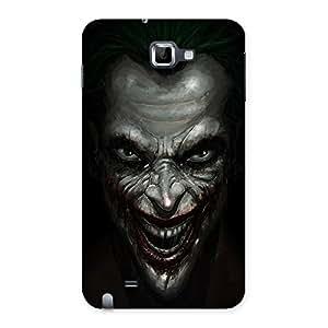 Impressive Mad face Multicolor Back Case Cover for Galaxy Note