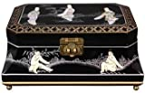 "Best Most Beautiful Mother'sDay Gift Ideas for Her 2011 - 12"" Adorlee Oriental Jewelry Box Case Chest - 3 Colors"