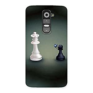 Queen and Pawn Back Case Cover for LG G2