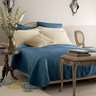 William And Mary Matelassé Bedspread, Queen - The Company Store
