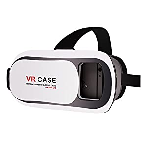 3D VR Virtual Reality Headset 3rd Generation 3D Glasses VR BOX Virtual Reality 3D Glasses For iPhone 6 Samsung 4.7~6 inch by NUTK