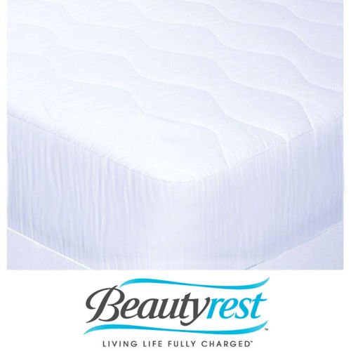 Beautyrest Mattress Pad Is A Perfect Blend Of Cotton. It Is Cooling At Night. This Queen Pad Is Guaranteed A Relaxing Sleep.It Is Perfect For Your Bed front-972051