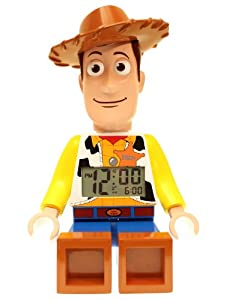 LEGO Kids' 9002731 Toy Story Woody Mini-Figure Alarm Clock by LEGO