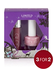 Limited Collection Lip Gloss & Nail Duo Set