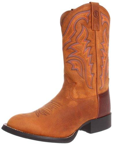 Tony Lama Boots Men's RR1100 Boot,Rojo Bridle,