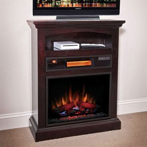ChimneyFree Raleigh Espresso Infrared Electric Fireplace - 23ISM2853-E451 photo B00GHNNXWG.jpg