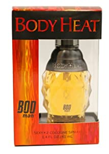 Parfums De Coeur Bod Man Body Heat Spray Cologne, 1.4 Ounce