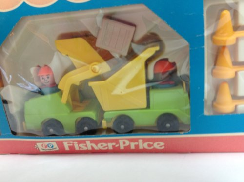 Fisher Price Lift And Load Builders Construstion (Routiere) #789 Year 1978