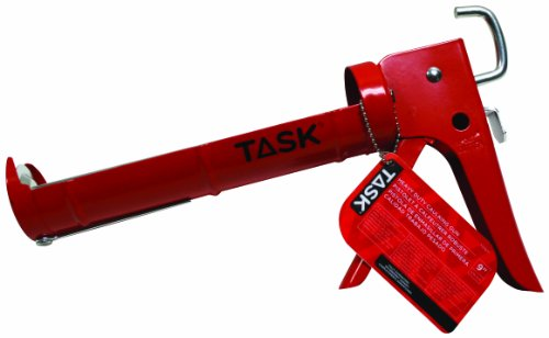 Task Tools T37071 9-Inch Heavy-Duty Cradle Caulking Gun