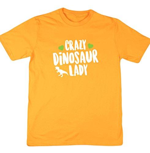 HippoWarehouse -  T-shirt - Uomo Gold X-Large