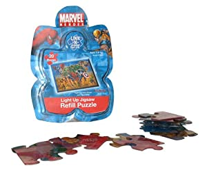 Add-On Pack for Jigsaw Puzzle - Marvel