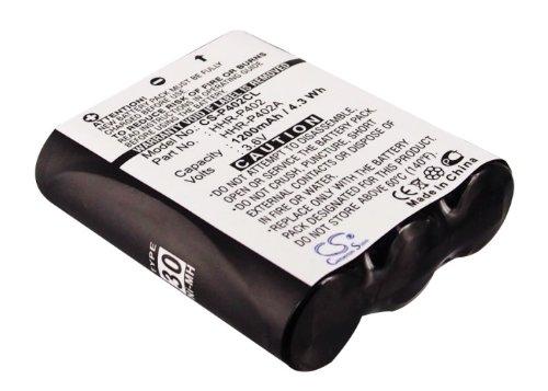 Battery for Pansonic HHR-P402, KX-FPG371, KX-FPG372, KX-FPG376, KX-FPG377 (Panasonic Hhr P402 compare prices)