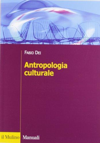 Antropologia culturale PDF
