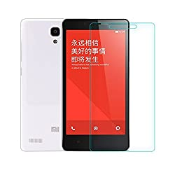 Xiaomi Redmi Note Prime Tempered Glass Screen Protector with OTG Cable (TEMPERED GLASS + OTG CABLE) COMBO by DRaX®