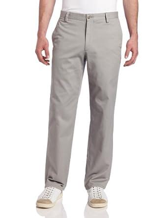 Dockers Men's Easy Khaki D2 Straight Fit Flat Front Pant, Ancient Stone, 29x30