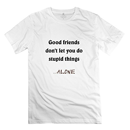 Ywt Good Friends Mens Clothing Unique Funny White