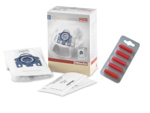 Miele Gn Hyclean Vacuum Cleaner Dust Bags Filters & Air Freshener Sticks Pack Of 4 (Miele Gn S400i compare prices)