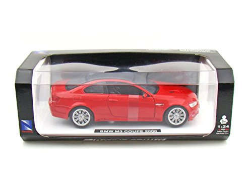 2008 BMW M3 Coupe 1/24 Red (Bmw M5 Model compare prices)