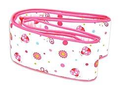 Owen Bumper Pad, (Pink)