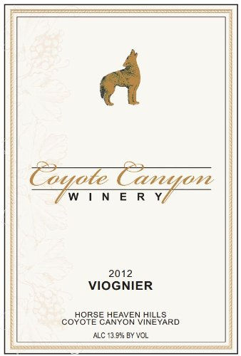 2012 Coyote Canyon Winery Horse Heaven Hills Estate Viognier 750 Ml