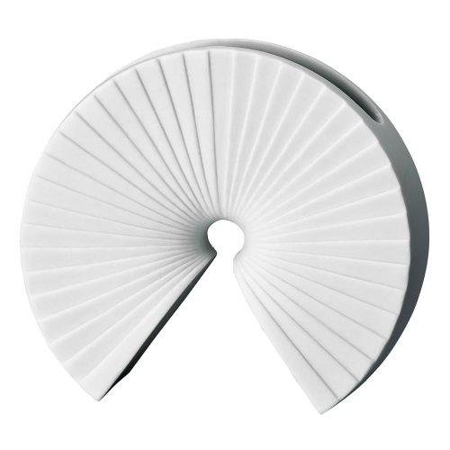 """Rosenthal 13719-100102-26008 Miniaturvase """"Arcus"""" aus weißem Porzellan, Höhe 8 cm"""