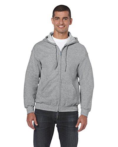 gildan-adult-heavy-full-zip-hooded-sweatshirt-sport-grey-large