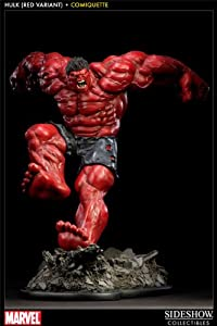 Incredible Hulk Red Variant Hulk Comiquette Statue