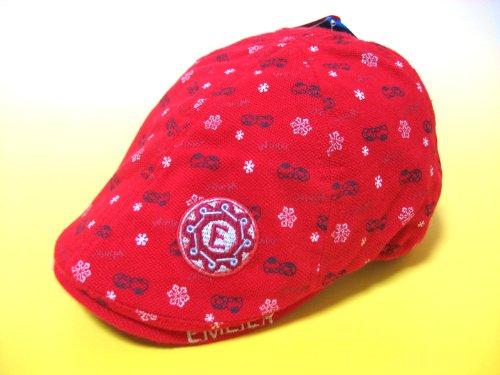 大人顔負けハンチング帽子 ベビー帽子/子供用帽子/UVカット帽子/日よけ帽子